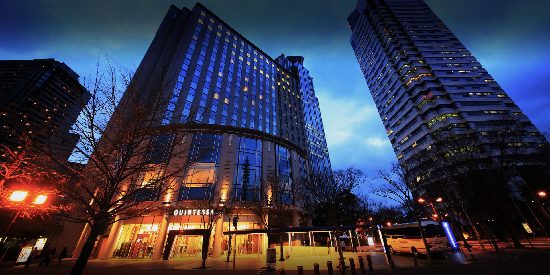 原:大阪拉雷森酒店,更名為「大阪湾昆特萨酒店」重新开业。
