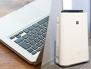全室Wi-Fi Free 加湿機能付空気清浄機設置